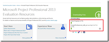 Microsoft project 2013 download trial version | Request MS